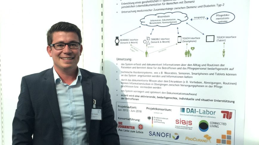 Connected Living präsentierte PERLEN bei der MedTech Summit 2016