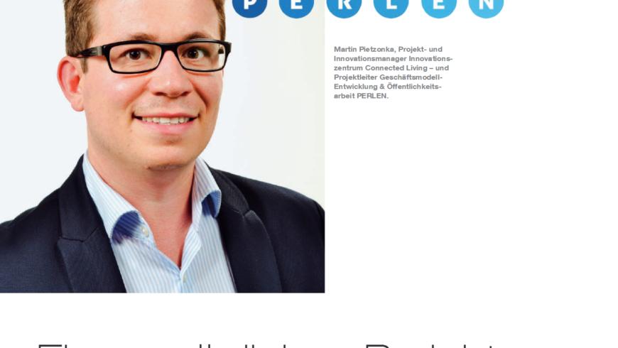PERLEN im medizinischen Fachmagazin medAmbiente care – Ein Interview mit Martin Pietzonka