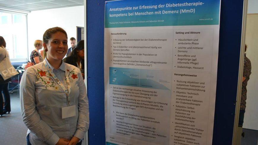 Vortrag und Posterpräsentation PERLEN auf  1. Cluster-Konferenz des Pflegeinnovationszentrums in Oldenburg